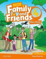 Family and Friends 4 Class Book + Workbook + CD