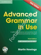 Advanced Grammar in Use (Third Edition) with answers + CD. Martin Hewings