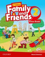 Family and Friends 2 Class Book + Workbook + CD
