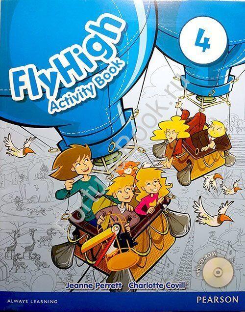 Fly High 4 Pupils Book + Activity Book + 3CD купить в