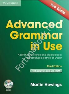 Advanced Grammar in Use (Third Edition) with answers + CD